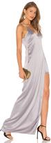 Halston V Neck Slip Dress