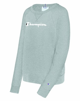Champion Women's Heritage French Terry Crew Sweater