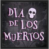 PTM Images Black & Pink 'Dia De Los Muertos' Framed Giclée Print