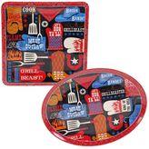 Certified International BBQ Bandit 2-pc. Platter Set