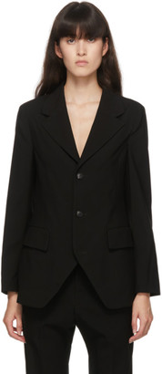 Regulation Yohji Yamamoto Black Wool Blazer