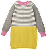 Toobydoo Colorblock Sweater Dress (Toddler, Little Girls, & Big Girls)