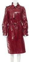 Lanvin Patent Leather Trench Coat