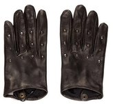 Bottega Veneta Leather Studded Gloves w/ Tags