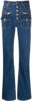 Zadig & Voltaire Fashion Show button-up jeans