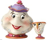 Disney Traditions Mrs Potts and Chip Sculpture