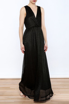 Alythea Black Evening Dress