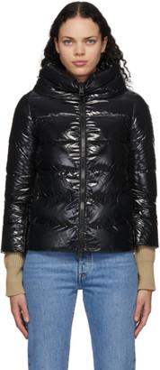 Herno Black Down Gloss Jacket