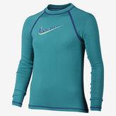 Nike Hydro UV Solid Big Kids' (Girls') Swim Top