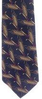 Chanel Silk Wheat Jacquard Tie
