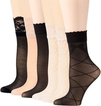 Peds Women's Trouser Socks 6 Pairs