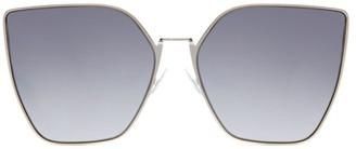 Fendi 63MM Oversized Geometric Sunglasses