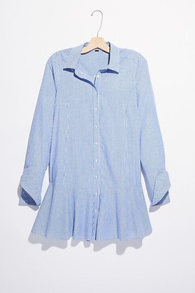 Free People All For You Striped Shirt Dress