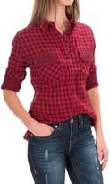 Seven7 Flap-Pocket Shirt - Long Sleeve (For Women)