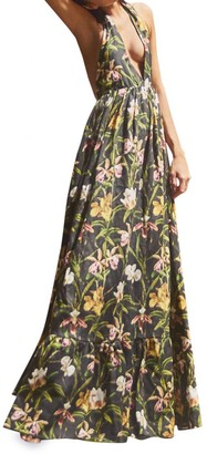 Agua Bendita Olivia Floral Maxi Dress