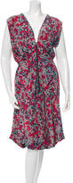 Suno Printed Silk Dress