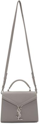 Saint Laurent Grey Mini Cassandra Bag