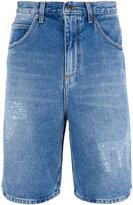 J.W.Anderson washed denim shorts - men - Cotton - 50