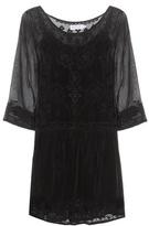 Velvet Annmarie embroidered dress