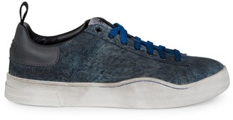 Diesel Clever Low-Top Denim Sneakers