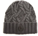 Moncler Cable-knit Beanie Hat