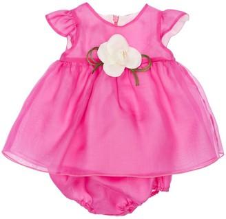 La Stupenderia Silk Organza Dress W/ Diaper Cover