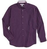 DKNY Boy's Plaid Dress Shirt