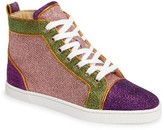 Christian Louboutin Women's Bip Bip High Top Sneaker