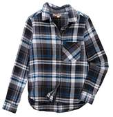 Vintage Havana Long Sleeve Flannel Shirt (Big Girls)