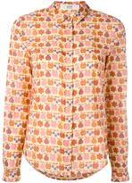 Vanessa Bruno fruit print button down shirt