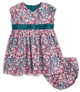 Tea Collection Infant Girl's Azuma Floral Print Dress