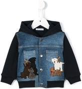 Dolce & Gabbana dog patch hoodie
