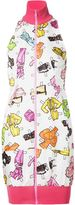Moschino paper doll accessories print dress