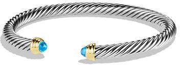 David Yurman 5mm Pearl Cable Classics Bracelet, Small
