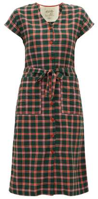 Ace&Jig Gallo Checked Cotton Dress - Womens - Green Multi