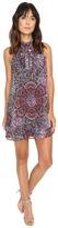 Brigitte Bailey Liona Tie-Neck Shift Dress