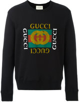 Gucci print sweatshirt - men - Cotton - S