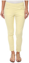 Jag Jeans Amelia Pull-On Slim Ankle in Bay Twill