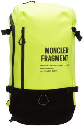 MONCLER GENIUS Moncler X Fragment Hiroshi Fujiwara Logo Rucksack