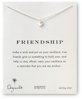 Dogeared Friendship Anchor Necklace, 18""