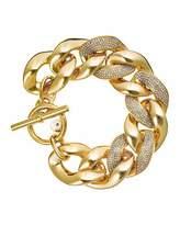 Michael Kors Pave Curb Chain Link Bracelet