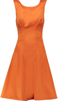 Zac Posen Duchess-satin dress