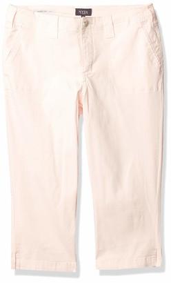 NYDJ Women's Petite Size Chino Twill Crop Pants