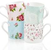 Royal Albert Dinnerware, Set of 4 Old Country Roses Mugs