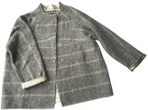 Rochas Anthracite Wool Jacket for Women