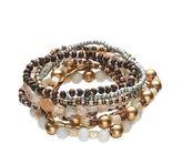 Mudd Bead Stretch Bracelet Set