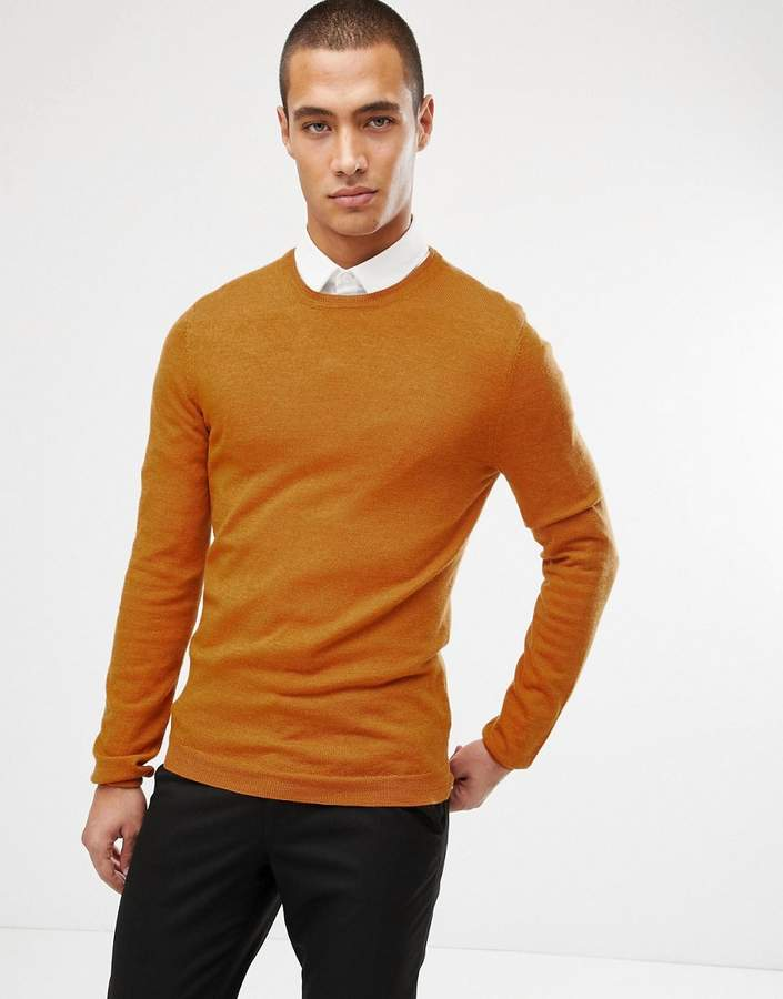 dce27409 Mens Mustard Yellow Sweater - ShopStyle UK