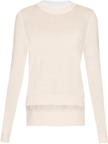 ADAM by Adam Lippes Fine-knit cotton and cashmere-blend sweater