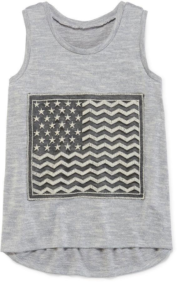 Arizona Americana Tank Top - Girls 7-16