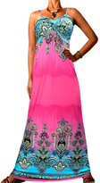Angela Women's Long Maxi Dress Evening Adjustable Strap Plus SizeL 16 - 18 US